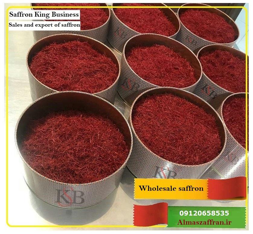 فروش زعفران فله به کشور روسیه